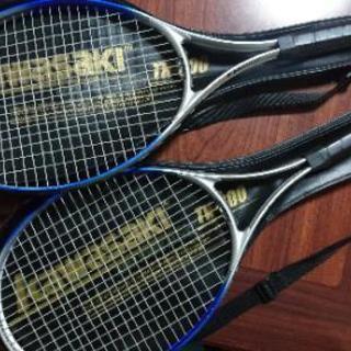 《ご購入者様決定》kawasaki 硬式テニスラケット2本セット