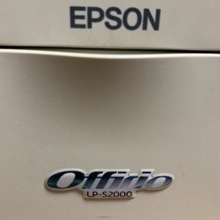 プリンター EPSON offrio lp-s2000  トナー不調