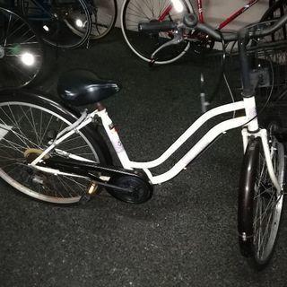 ギア付き自転車値下げ