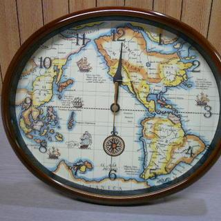 レトロ アナログ置時計