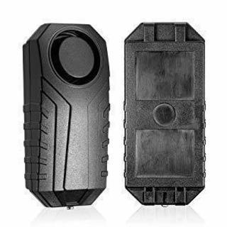 車・バイク・自転車等盗難防止アラーム 113dB IP55 防水 室外用可  新品・未使用 電池付属即使用可能 - 車のパーツ