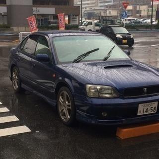 レガシーb4 be5 藍色 中古車