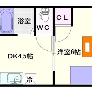 【レジデンスなんば】5号タイプ!1DKタイプ!近くの浪速区スポーツ...
