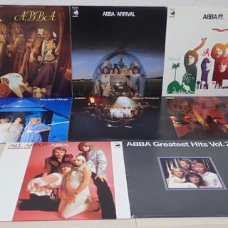 ABBA / アバ オリジナルLP6枚+ベスト2枚 名盤 日本盤 美品