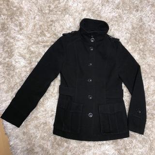 H&M ブラック コート