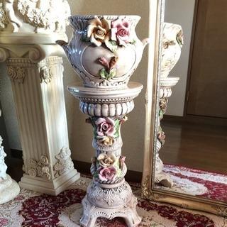 イタリア製🇮🇹花台コラムポット輸入美品❤️お値下げ中です。