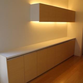 展示品 サンウェーブ キッチンキャビネット サイズ W3520 ...