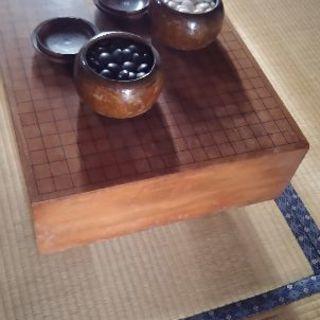碁盤と碁石