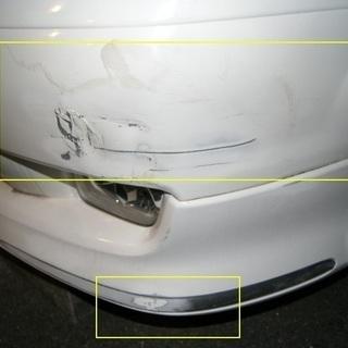 自動車板金塗装:出張修理します