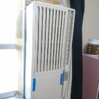 窓用エアコン 枠あり リモコンあり ウインド エアコン  冷房 マ...