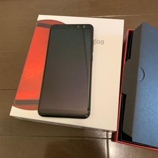 gooのスマホ g08(グーマルハチ) SIMフリー DSDS