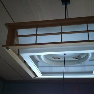 家庭用照明(電灯/和風/電気)格安でどうぞ 2台あります(価格は...