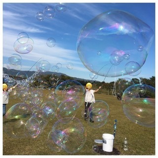バブルストーム bubble storm 大きなシャボン玉