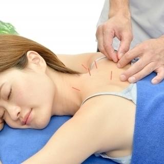 """肩こり、頭痛、腰痛などお悩みにありませんか?""""はり(鍼)を""""試し..."""
