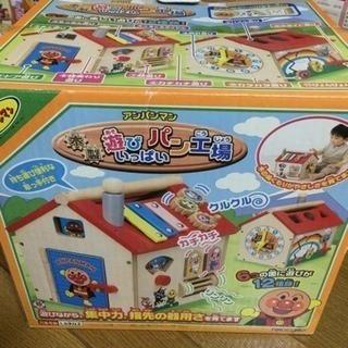 アンパンマン 木製玩具