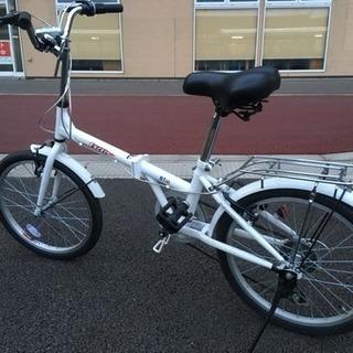 10月購入 変速機能付き折りたたみ自転車