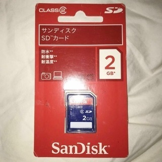 新品 SanDisk サンディスク♪正規 SDカード 2GB パソ...