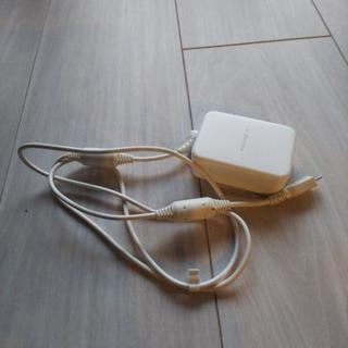 ドコモ純正電源ケーブル(マイクロUSB)