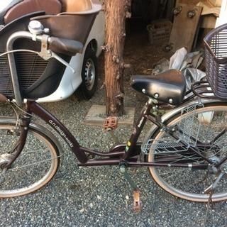 子供乗せ自転車 譲ります