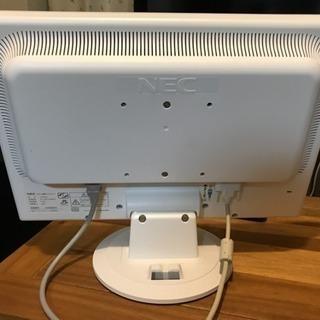 19インチワイド 液晶モニター NEC F19W3A - 世田谷区