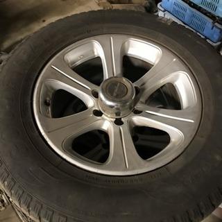 取引先決まりました。ランドクルーザープラドTXリミテッド廃タイヤ+ホイール売ります!の画像