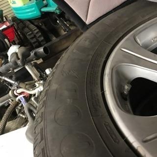 取引先決まりました。ランドクルーザープラドTXリミテッド廃タイヤ+ホイール売ります! - 売ります・あげます