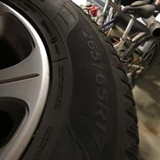 取引先決まりました。ランドクルーザープラドTXリミテッド廃タイヤ+ホイール売ります! − 山梨県