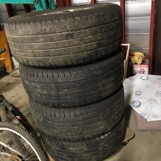取引先決まりました。ランドクルーザープラドTXリミテッド廃タイヤ+ホイール売ります! - 車のパーツ