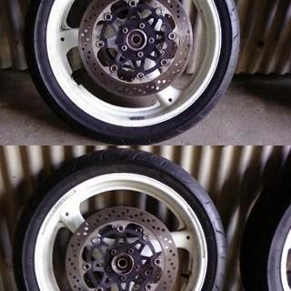 スズキ GSX-R1100 前後18インチホイールタイヤセット
