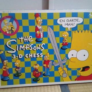 シンプソンズ 3D チェス THE SIMPSONS 3D CHESS