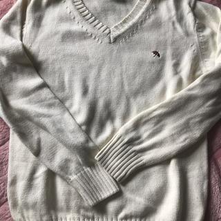 美品/白セーター