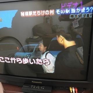 無料!!ブラウン管BS内蔵テレビ
