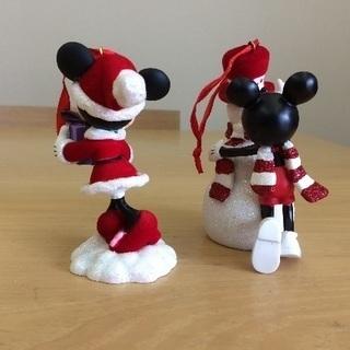 クリスマスツリー 飾り ミッキー&ミニー