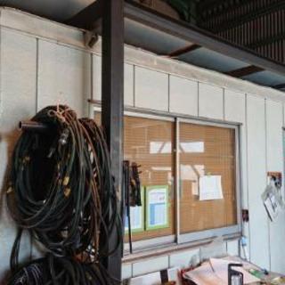 運搬作業費込み ユニットハウス エアコン付 コンテナ 事務所