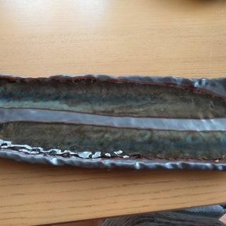 長皿 ナマコ釉二枚200円