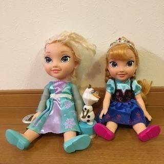 アナと雪の女王 人形