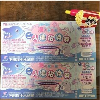 下田海中水族館  ペアチケット