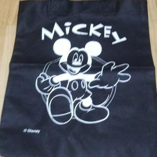 手提げ袋 物入れ エコバッグ ミッキーマウス