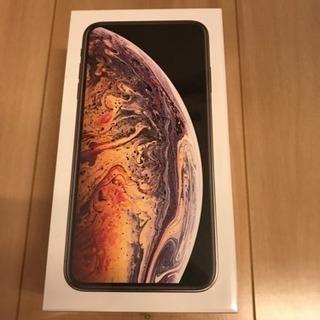 【新品未開封】iPhone XS MAX 64GB 香港版 SI...