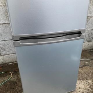 【美品】2016年製DAEWOO2ドア冷蔵庫85L
