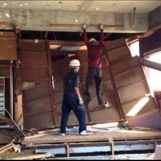 【工期2年】復興 木造解体スタッフ・福島浪江町《高収入》