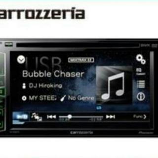 Pioneer DVD再生 USB ワイドVGAモニター/DVD...