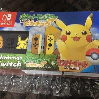 任天堂Switchポケットモンスター let's go ピカチュ...