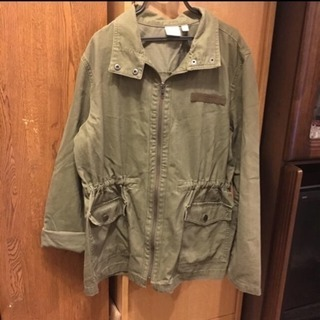 ジャケット 大きめ 緑
