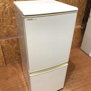 シャープ 137L 2ドア 冷凍冷蔵庫 SJ-714