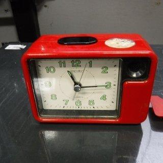 昭和レトロ セイコー アナログ置時計