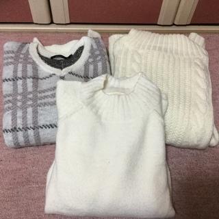 断捨離💓M寸のセーター3点セット💓中古💓若い人向き