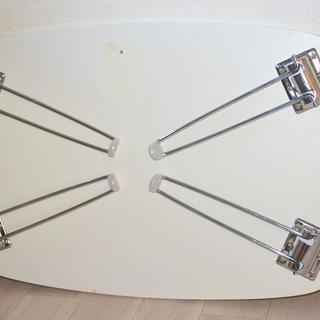 【格安】ドン・キホーテ 折りたたみ式 ローテーブル 白