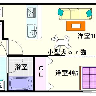 【スプランディッド難波】1号タイプ!1LDKタイプ!人気の高い間取...