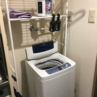 洗濯機 ラック 12/21 13時までに取りにいただける方限定。